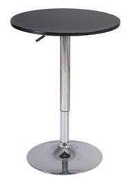 Baarilaud Signal Meble B500 Black, 600x600x930 mm