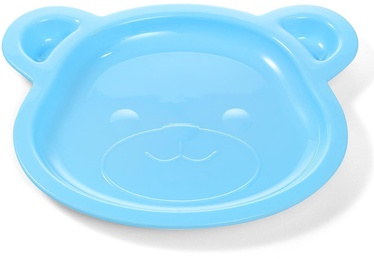 BabyOno Be Active Bear Plate Blue