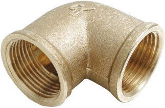 """Sobime Elbow Connector Brass 2""""FF"""