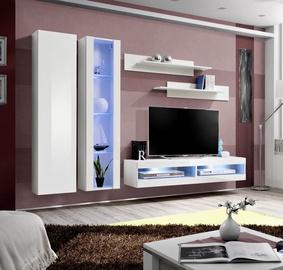 ASM Fly O9 Living Room Wall Unit Set White