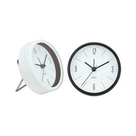 SN Table Clock 9.2x3.3x9.2cm White