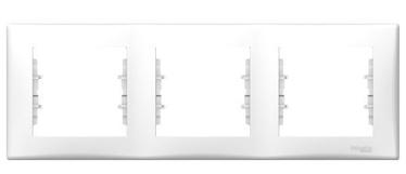 Schneider Electric Sedna Three Way Frame SDN5800521 White