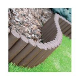 Cellfast Garden Fence 210x14.5cm Brown