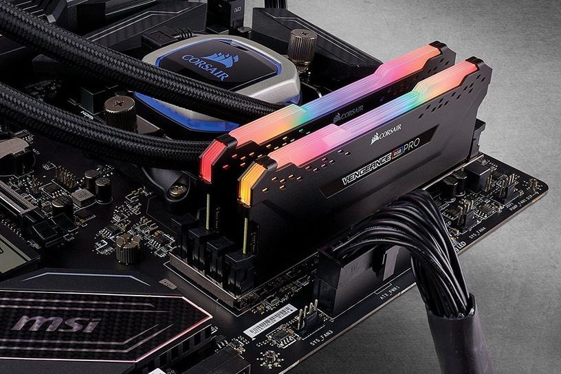 Corsair Vengeance RGB Pro Black Series 32GB 2666MHz CL16 DDR4 KIT OF 4 CMW32GX4M4A2666C16