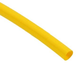 Techflex Heat Shrink Tubing 6mm Yellow 1m