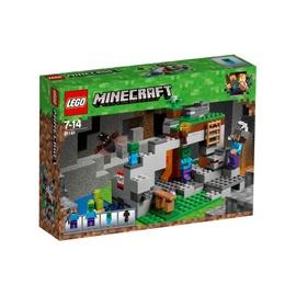 Konstruktor Lego Minecraft The Zombie Cave 21141