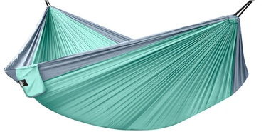 Besk Nylon Hammock 300x200cm Light Blue
