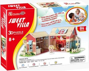 3D пазл Cubicfun Sweet Villa 3D, 84 шт.