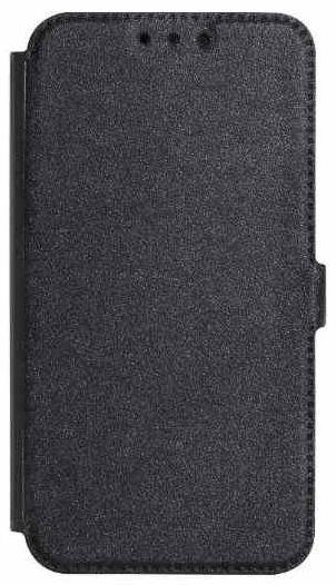 Mocco Shine Book Case For Nokia 6.1 Plus Black