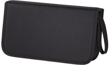 Hama CD/DVD/Blu-Ray Wallet 104 Black