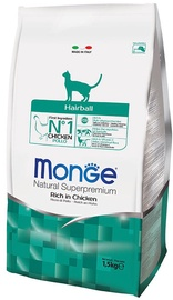 Monge Natural Superpremium Hairball Rich in Chicken 1.5kg