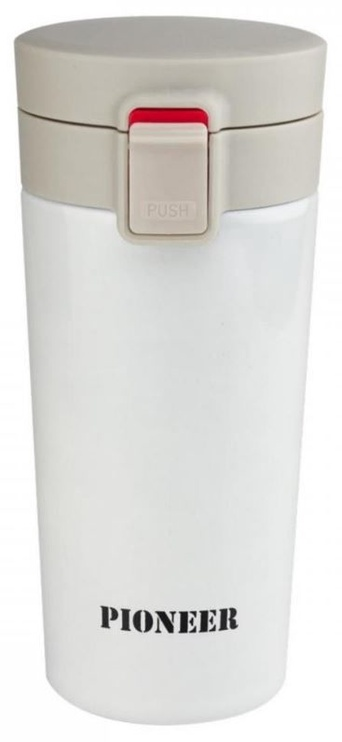 Grunwerg Coffee Tumbler With Lock 380ml White