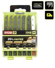 Ryobi RAK10JSBWM Jigsaw Blade Set 10pcs