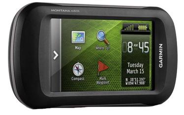 Garmin Montana 680t GPS EE Packaging