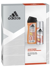 Adidas Adipower Package Deodorant Spray 150ml + 250ml Shower