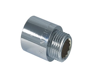 """Kraanijätk TDM Brass 1/2"""",10 mm, kroom"""