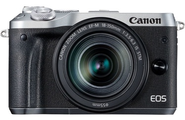 Canon EOS M6 Mark II Silver + EF-M 18-150mm IS STM