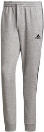 Adidas Essentials Fleece Tapered Cuff 3-Stripes Pants GK8976 Grey 2XL
