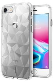 Blun 3D Prism Shape Back Case For Huawei P20 Lite Transparent