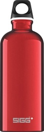Sigg Water Bottle Traveller Red 1L