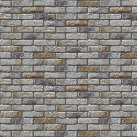 Stone Master Retr Brick Tiles 245x64mm Grey