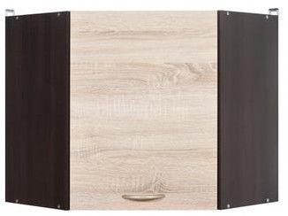 Black Red White Kitchen Upper Cabinet Junona Line GNWU/57 LP Wenge/Sonoma Oak