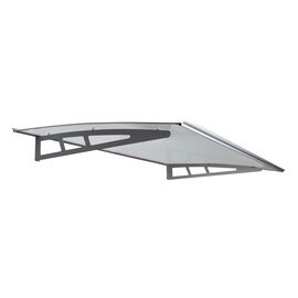 Foshan Silver Wing Outdoor Products Polycarbonated Roof 80x120cm Grey Aluminium