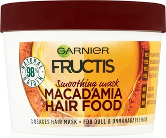 Juuksemask Garnier Fructis Nourishing Macadamia Hair Food, 390 ml