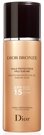 Christian Dior Bronze Beautifying Protective Oil Sublime Glow SPF15 125ml