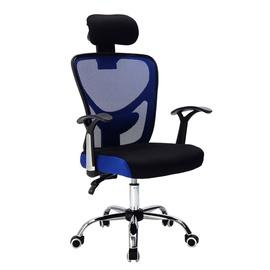 Офисный стул 158 Black/Blue
