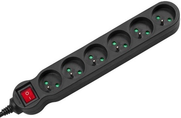 Maclean Power Strip MCE187 3m Black
