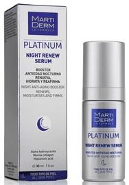 Näoseerum Martiderm Platinum Night Renew Serum, 30 ml