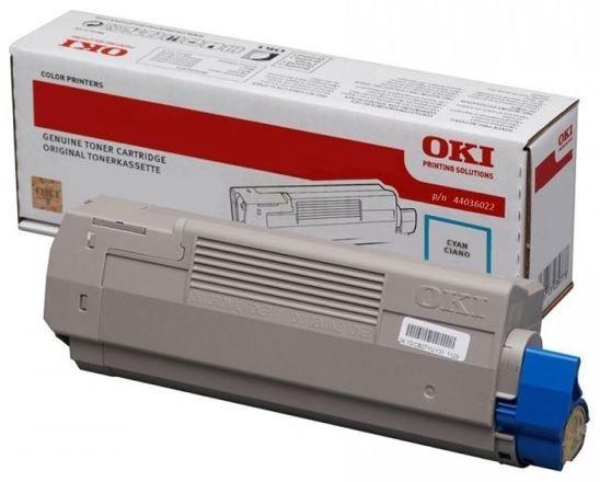 Oki 44036023 Toner Cartridge Cyan