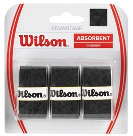 Wilson Advantage Overgrip 3 Pack Black
