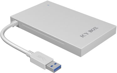 """ICY BOX 2.5"""" SATA SSD/HDD to USB 3.0 w/ Aluminum Enclosure"""