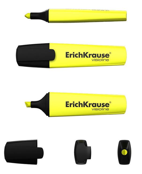 ErichKrause Visioline Highlighter V-12 4pcs