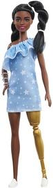 Mattel Barbie Fashionistas Doll With Twisted Braids & Star Print Dress GHW60