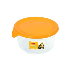 Toidukarp Curver Fresh&Go 0,5L kollane ümmargune