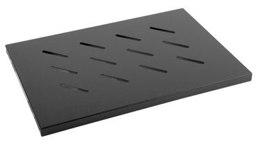 Lanberg Fixed Shelf 19'' 500x280mm Black