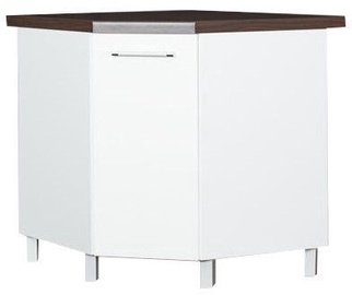 Bodzio Loara Bottom Corner Cabinet White
