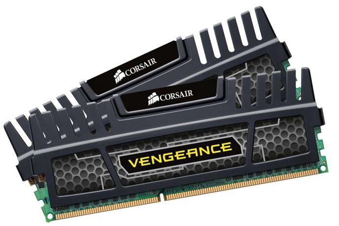 Corsair Vengeance Black 16GB DDR3 CL10 KIT OF 2 CMZ16GX3M2A1600C10
