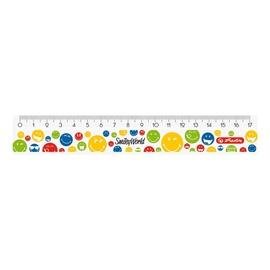 Herlitz Ruler 17cm SmileyWorld Rainbow 50001965