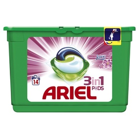 Ariel Touch Of Lenor Liquid Tabs 14pcs