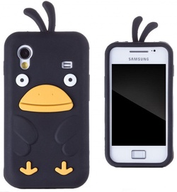 Zooky Soft 3D Cover Samsung S5830 Galaxy Ace Chicken Design Black