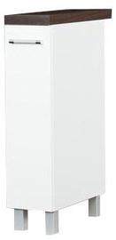 Нижний кухонный шкаф Bodzio Loara 20DC White, 200x520x860 мм