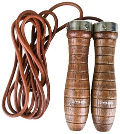 Spokey Quick Skip III Leather Jumping Rope