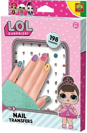 SES Creative L.O.L. Nail Transfers 14193