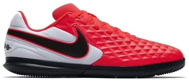 Nike Tiempo Legend 8 Club IC JR AT5882 606 White Laser Crimson 38