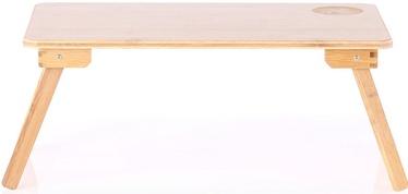AmeliaHome Laptop Desk Bamboo 50x30x22cm