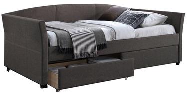 Home4you Bed Genesis 90x200cm Grey